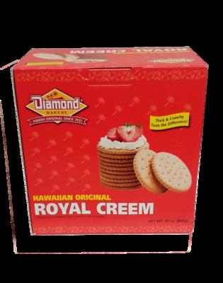 Diamond Bakery Royal Creem Cracker Original Large 30 oz