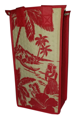 Tropical Paper Garden - Single Wine Bag- Magic Island