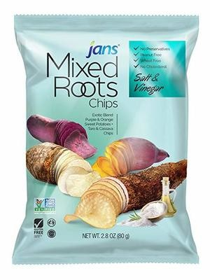 JANS Mixed Roots Chips Salt & Vinegar 2.8 oz