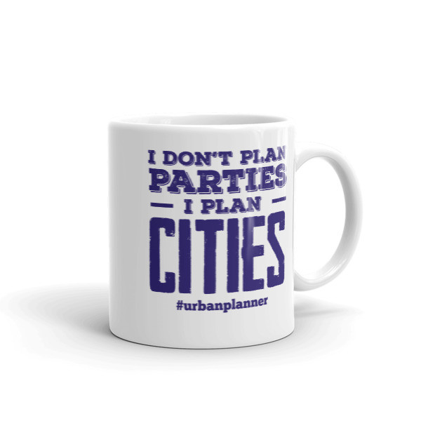 I Plan Cities Mug