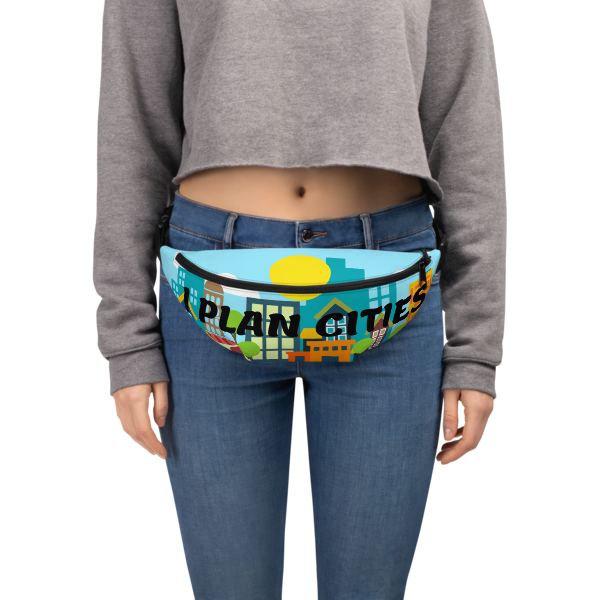 I Plan Cities - Daytime Fanny Pack