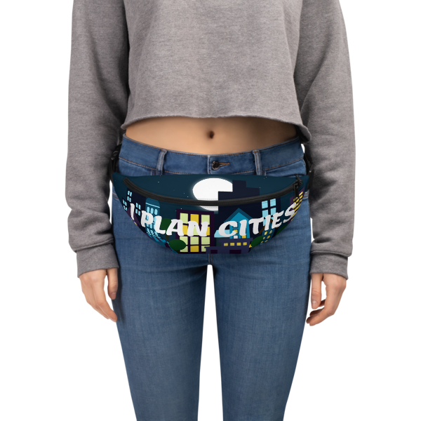 I Plan Cities- Nighttime Fanny Pack