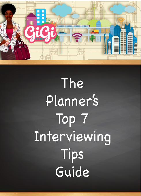The Planner's Top 7 Interviewing Tips Guide