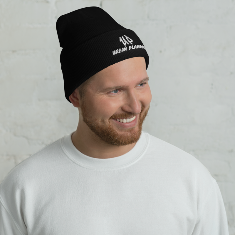 UP - Urban Planner Cuffed Beanie