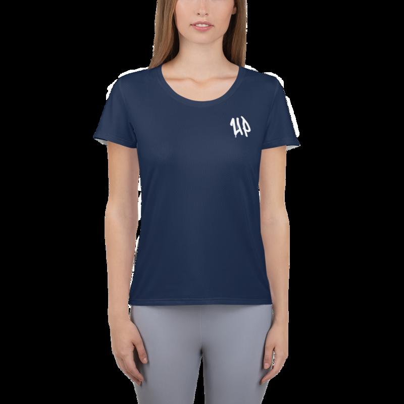 Navy Women's Athletic T-shirt