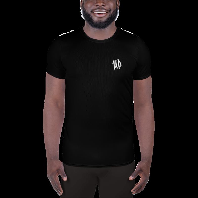 Black Men's Athletic T-shirt
