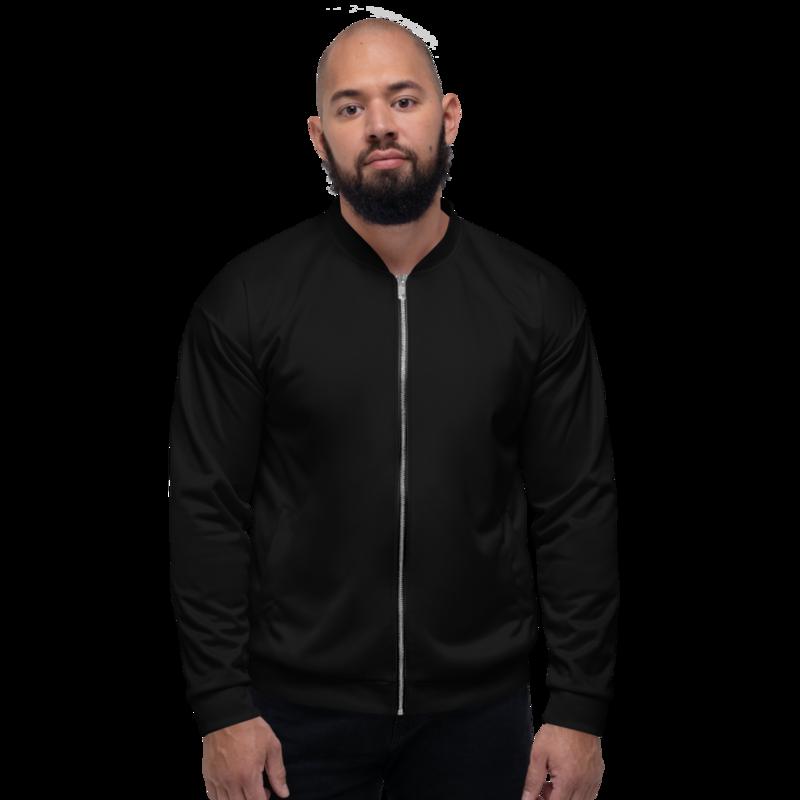 Black Men's Bomber Jacket