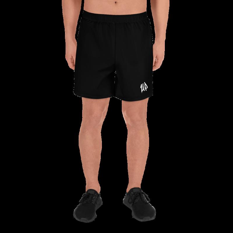 Black Men's Athletic Shorts