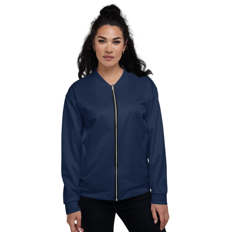 Navy Women's Bomber Jacket