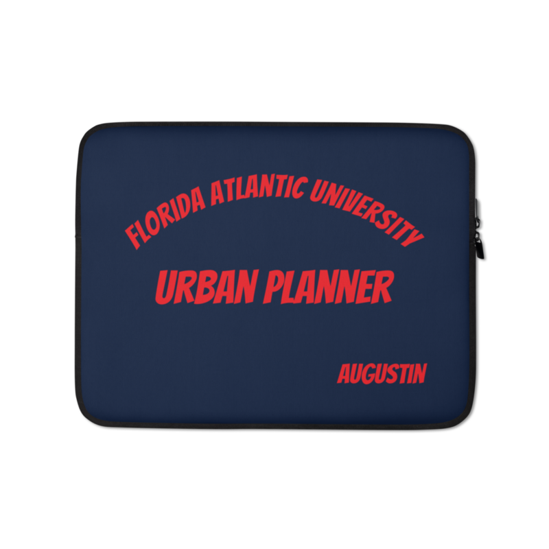 Personalized University Laptop Case