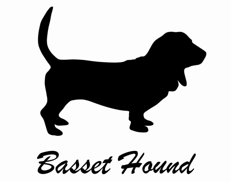 Basset Hound Sticker