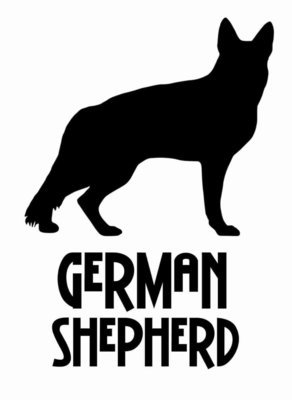 Billabone German Shepherd Sticker
