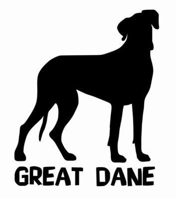 Billabone Great Dane Sticker