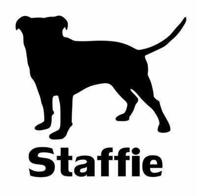 Billabone Staffie Sticker