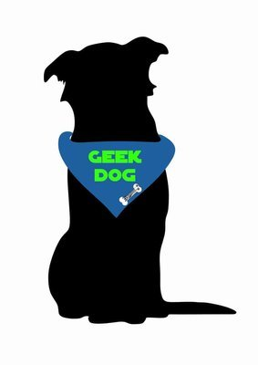 Billabone - Geek Dog Blue Bandana