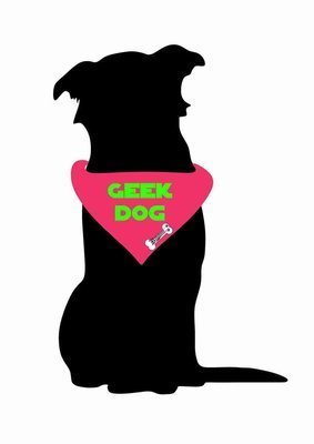 Billabone - Geek Dog Pink Bandana