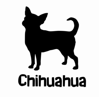 Billabone Chihuahua Sticker