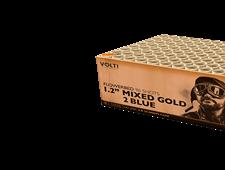 FD331 76508 - Mixed Gold 2 Blue 96 Shot Barrage