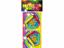 FD8 1078 - Tri Colour Wheels 2pce Twin Pack