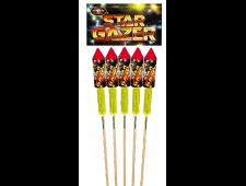 FD15R 1131 - Star Gazer Rockets 5pce PVC Bag Twin Pack