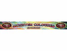 FD204 2074 - Monster Coloured Sparkler 4 x 4pce 14 Inch Pack