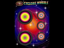 2243 - Cyclone Wheels 5pce B/Carded