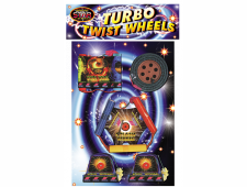 FD16 2244 - Turbo Twist Wheels 5pce B/Carded