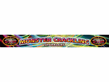 FD205 2073 - Monster Crackling Sparkler 4 x 4pce 14 Inch Pack