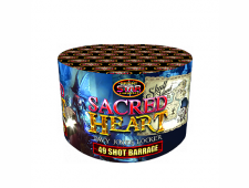 FD125 2390 - Sacred Heart 49 Shot barrage