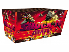 FD190 2415 - Shock 'N Awe 118-Shot Fan Barrage