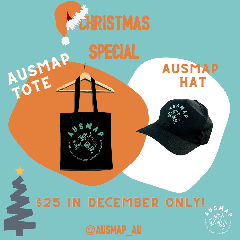 AUSMAP CHRISTMAS SPECIAL - TOTE + CAP