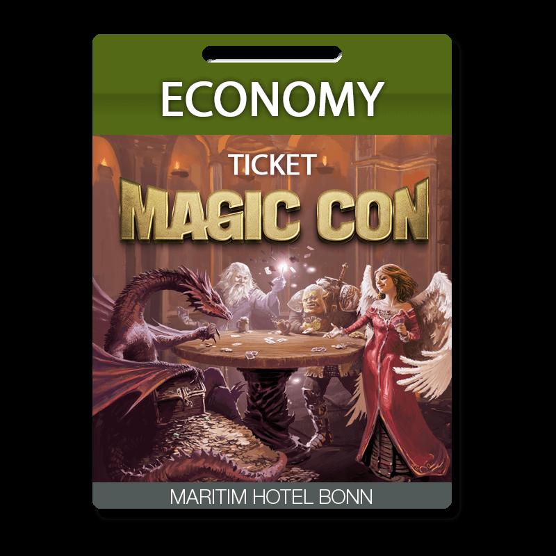 MagicCon Economy-Ticket