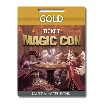 MagicCon Gold-Ticket