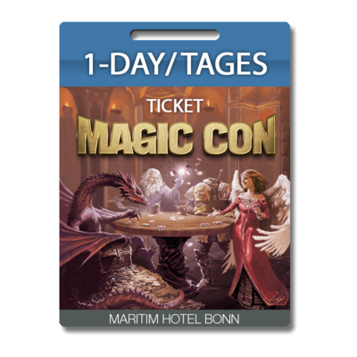 MagicCon 1Day/Tages-Ticket, FR, 15.10.2021
