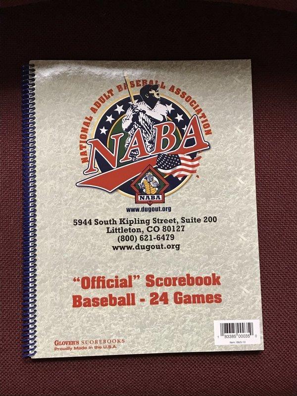 NABA Scorebook
