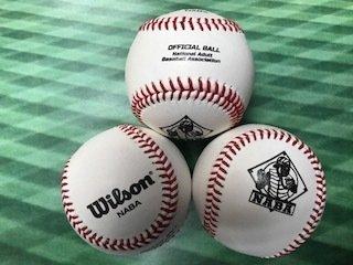 NABA Official League Baseballs