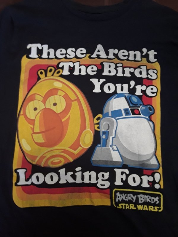 These aren't the birds you're looking for