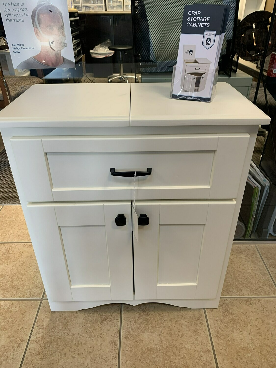 CPAP Cabinet (white)
