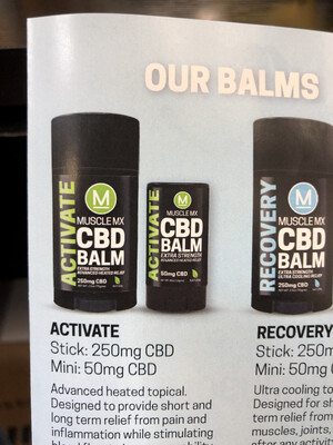 CBD Balm Activate (.5 OZ)
