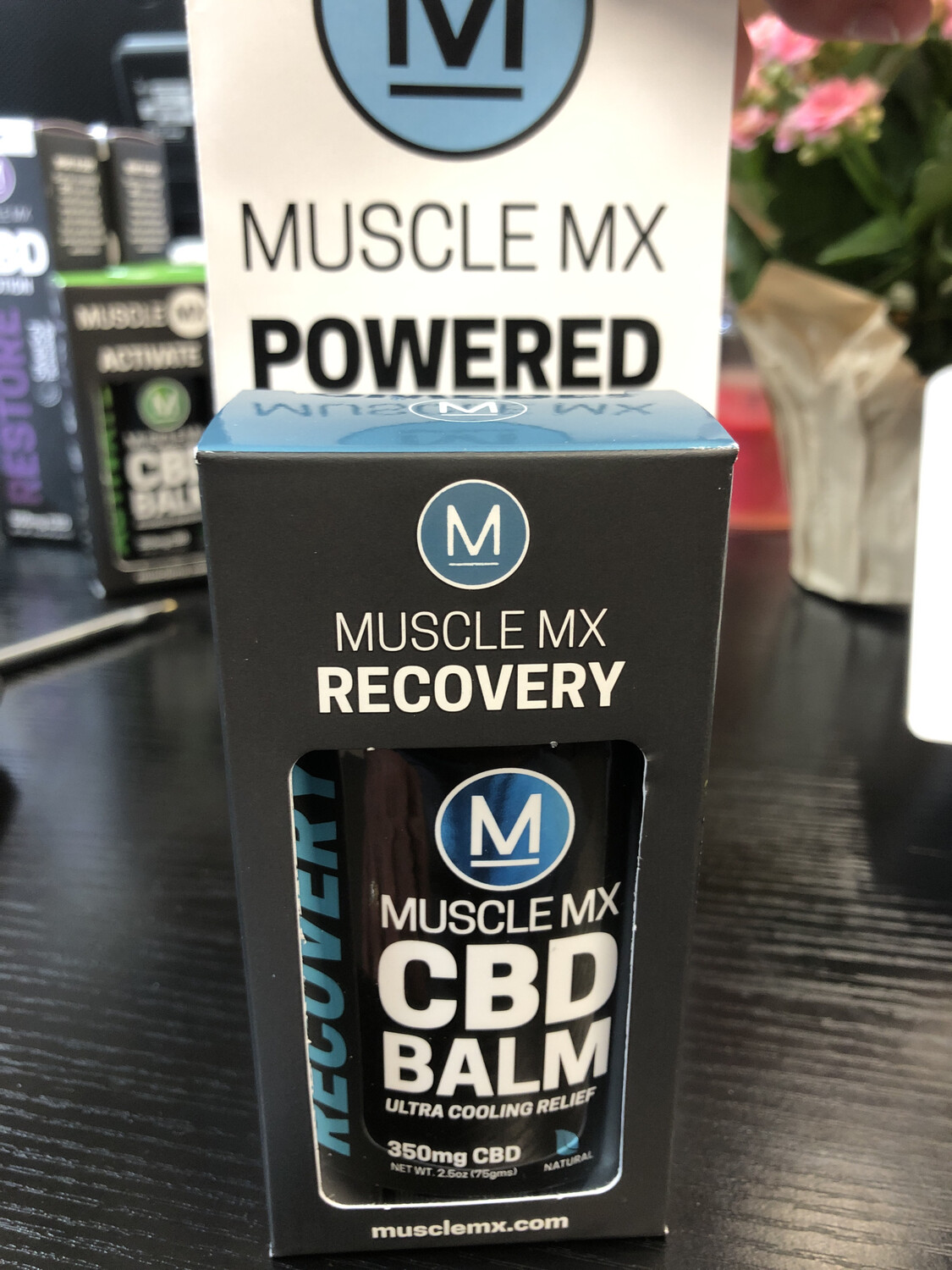 Muscle MX CBD balm Recovery  50MG (.50 OZ)