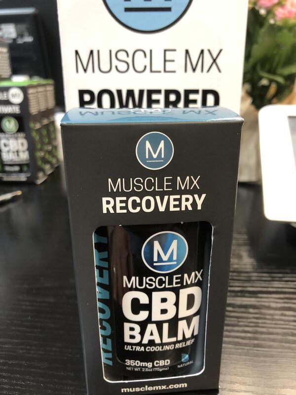 Muscle MX CBD Balm 250 mg (2.5 oz)