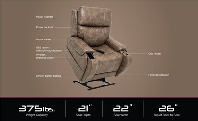 Atlas plus premium lift chair
