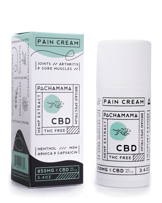 Pain Cream 850 MG CBD (3.4 oz)