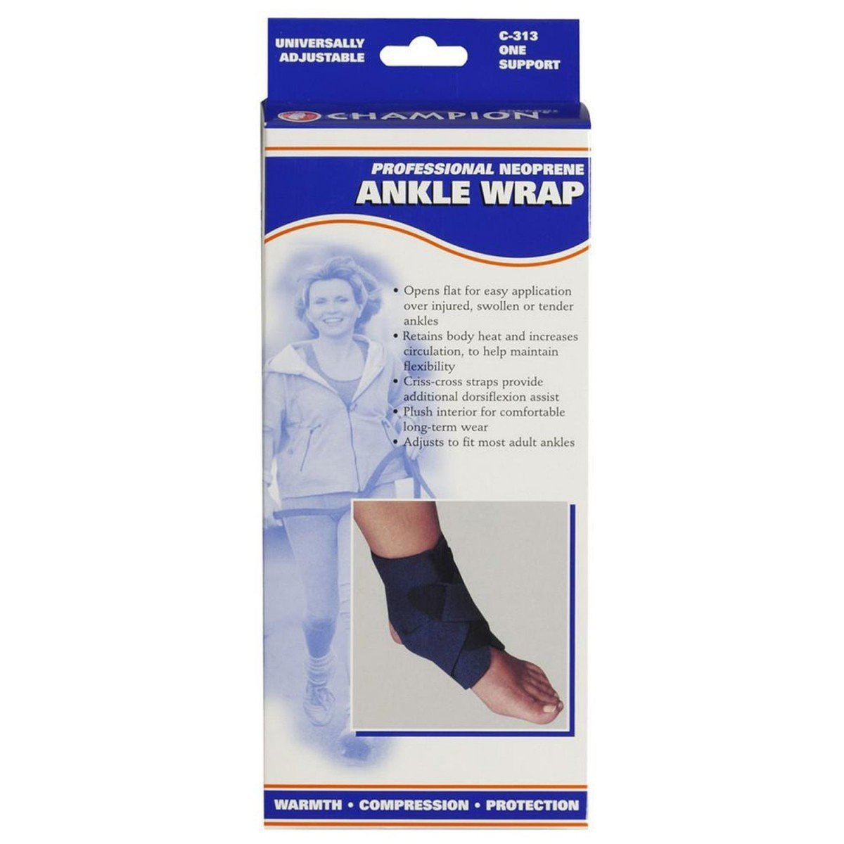 ankle wrap neop rb univ