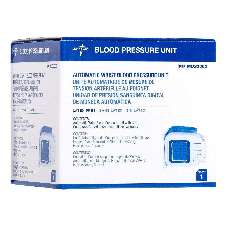 Blood Pressure Unit auto wrist