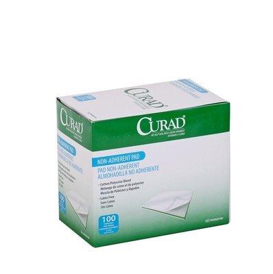 Curad non adherent 2x3 pad each