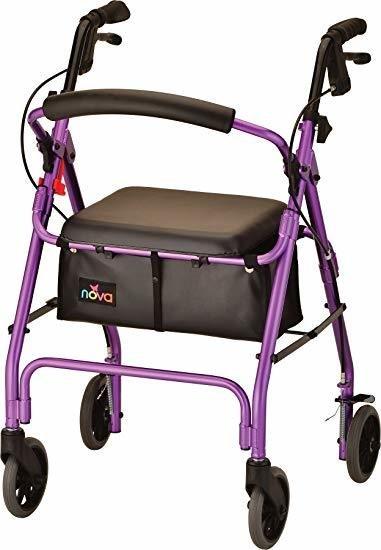 Getgo Classic Rolling Walker Purple