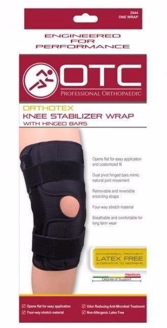 Knee Stabilizer Orthopedics hinged (L)