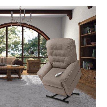 Lift Chair LC-358 Medium Cypton  Aria cool grey