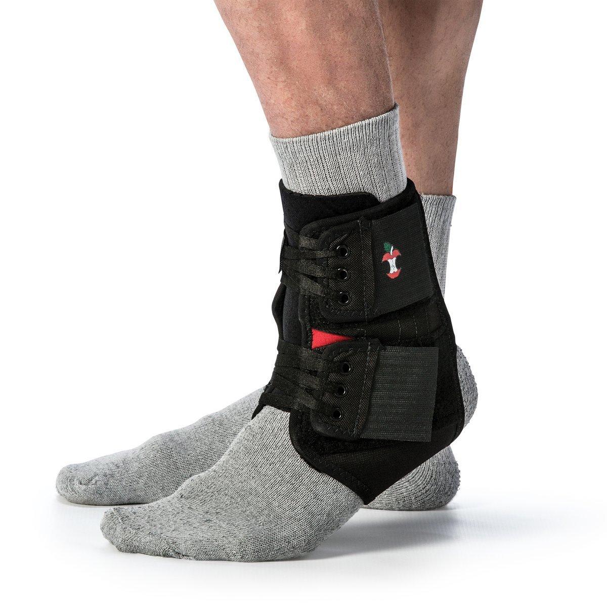 Power Wrap Ankle Brace Black-1XL Core Products